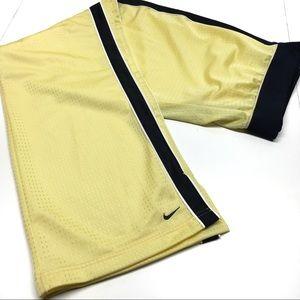 ۥ NIKE Yellow Mesh Track Pants K7